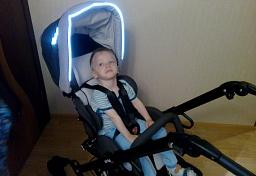 Отзыв покупателя детская инвалидная коляска Кимба Нео